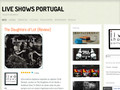 Pormenores : LIVE SHOWS PORTUGAL